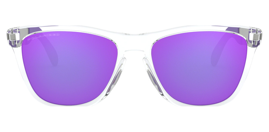 Oakley Frogskins Mix OO9428 Polished Clear 06 55mm Polariserade
