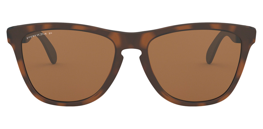 Oakley Frogskins Mix OO9428 Matte Brown / Tortoise 08 55mm Polariserade