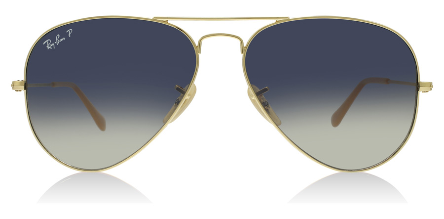 Ray-Ban Aviator RB3025 Guld 001/78 58mm Polariserade