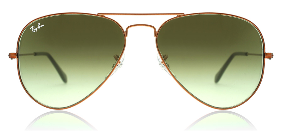 Ray-Ban RB3025 Glansig Medium Brons 9002A6 58mm