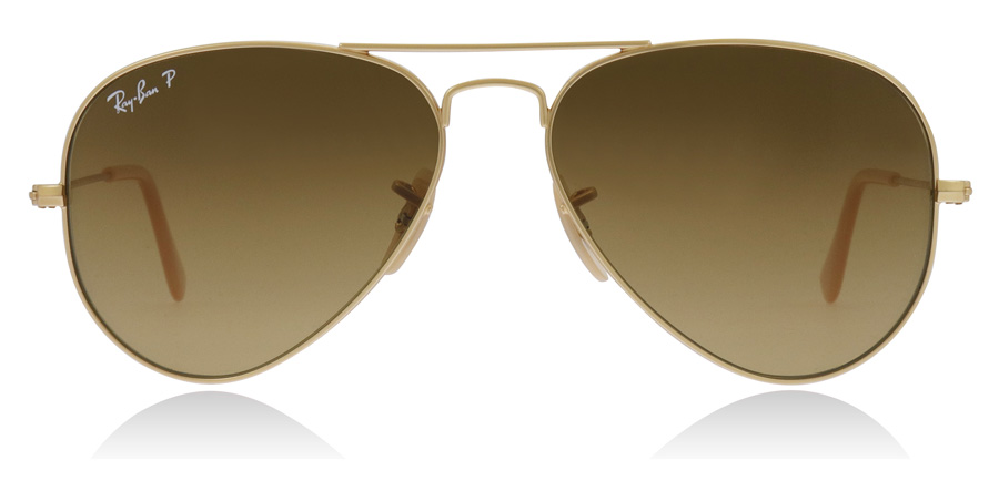 Ray-Ban RB3025 Mattguld 112/M2 55mm Polariserade