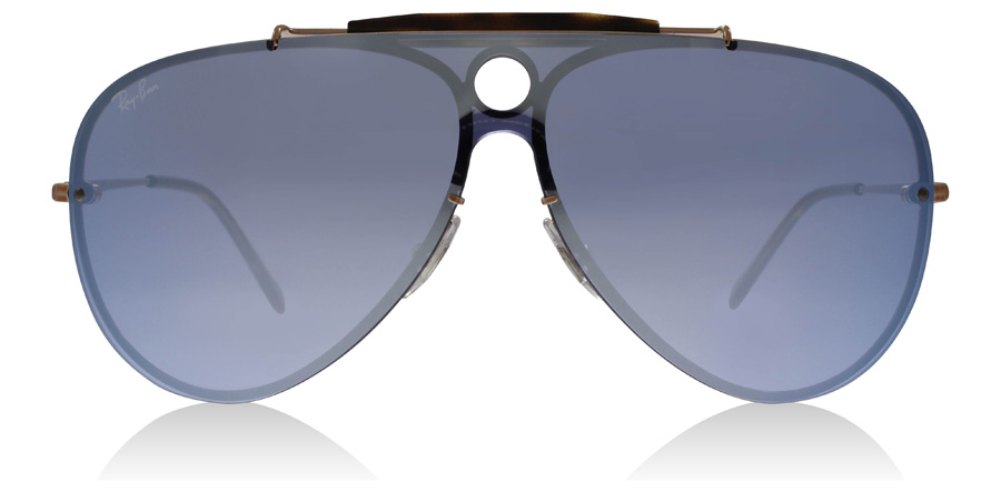 Ray-Ban RB3581N Blaze Shooter Koppar 90351U 32mm