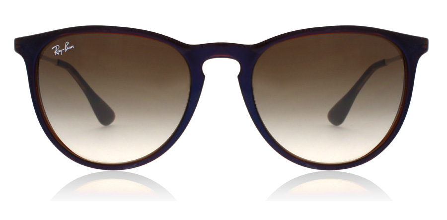 Ray-Ban Erika RB4171 Transparent Brun / Blå 631513 54mm
