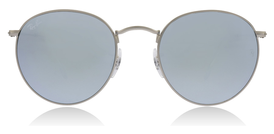 Ray-Ban RB3447 Matt Silver 019/30 53mm