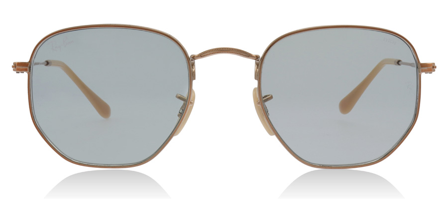 Ray-Ban RB3548N Hexagonal Copper / Green 91310Y 51mm
