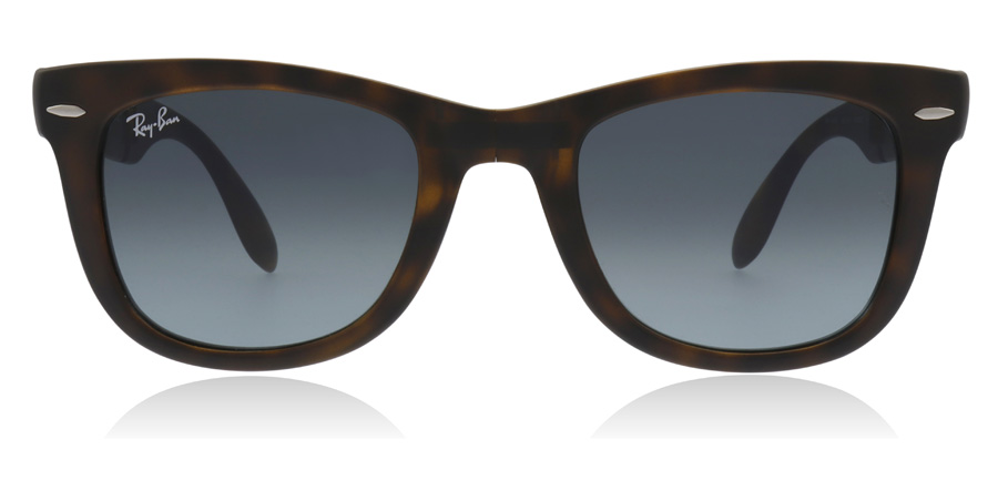 Ray-Ban RB4105 Folding Matte Havana 894/3M 50mm