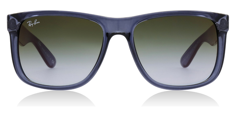 Ray-Ban Justin RB4165 Transparent Blå 6341T0 54mm