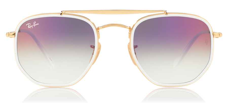 Ray-Ban The Marshal II RB3648M Gold 9117S5 52mm