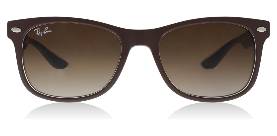 Ray-Ban Junior RJ9052S Age 12-15 Years Matt Brun / Blå 703513 48mm