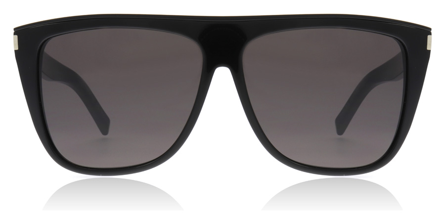 Saint Laurent SL1 COMBI Svart 002 59mm