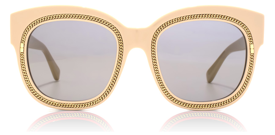 Stella McCartney SC0041S Shiny Nude Pink / Red Gold 002 51mm