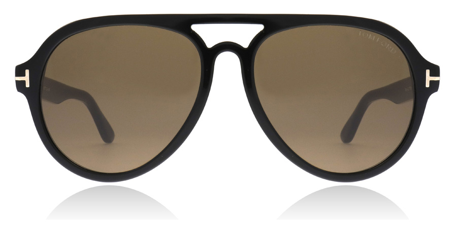 Tom Ford FT0596 Rory Polerad Svart 01J 57mm