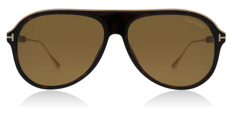 Tom Ford Nicholai FT0624 Mörk Havana 52E 57mm