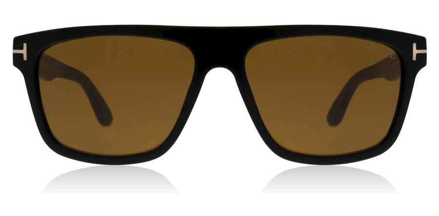 Tom Ford Cecilio FT0628 Skinande svart 01E 57mm