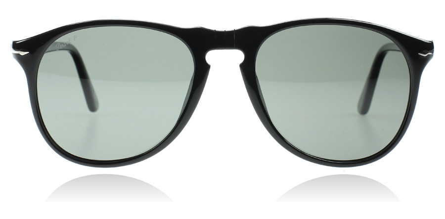 Persol PO9649S Svart 95/58 52mm Polariserade