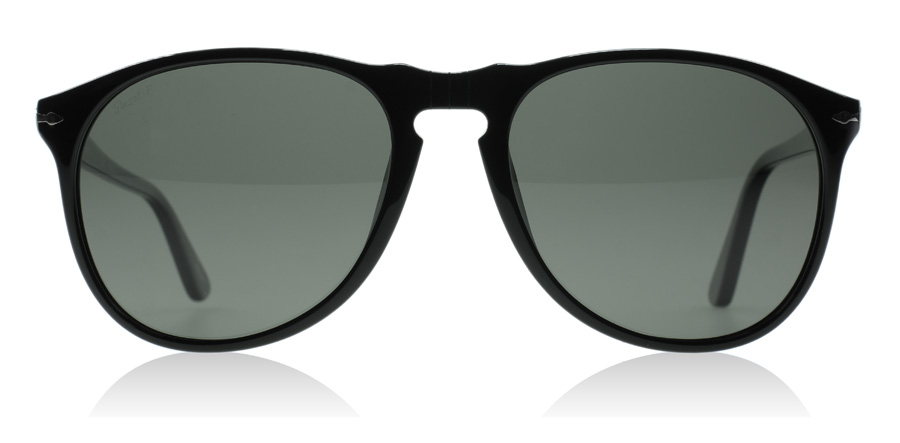 Persol PO9649S Svart 95/58 55mm Polariserade