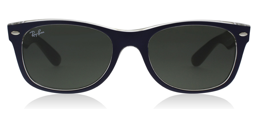 Ray-Ban RB2132 New Wayfarer Matt Blå 6188 55mm