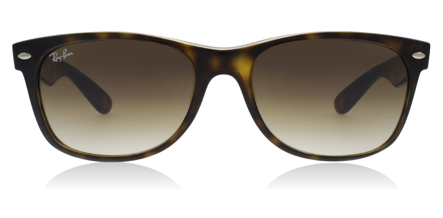 Ray-Ban RB2132 New Wayfarer Ljusa Havana 710/51 55mm