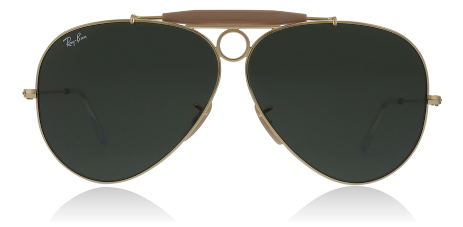 Ray-Ban Shooter 3138 Guld 001 62mm