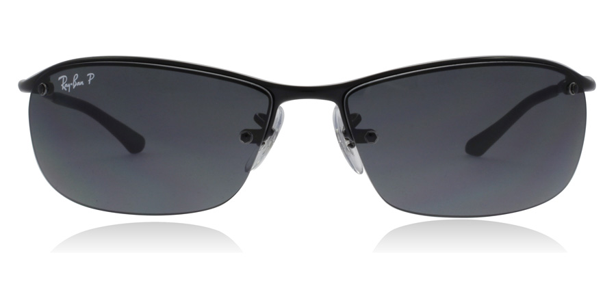 Ray-Ban RB3183 Svart 002/81 63mm Polariserade
