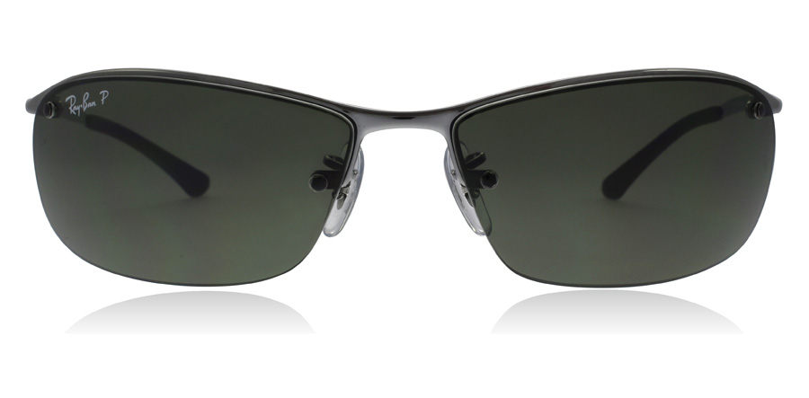 Ray-Ban RB3183 Stålgrå 004/9A 63mm Polariserade