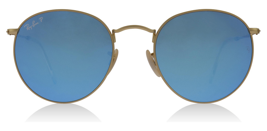Ray-Ban RB3447 Matt Guld 112/4L 50mm Polariserade