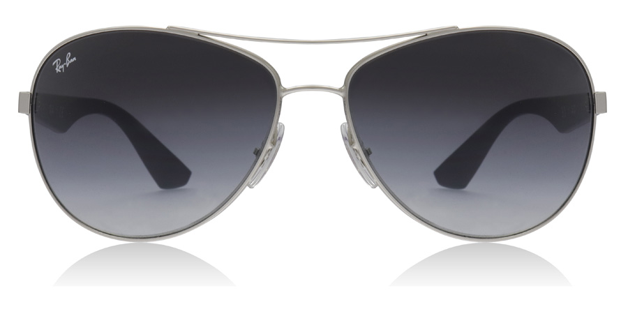 Ray-Ban 3526 RB3526 Matt Silver 019/8G 63mm
