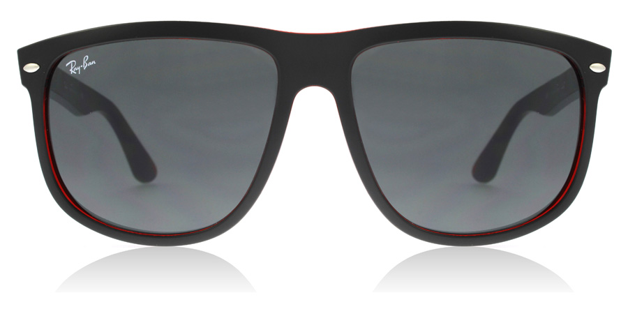 Ray-Ban RB4147 Matt Svart / Röd 617187 60mm