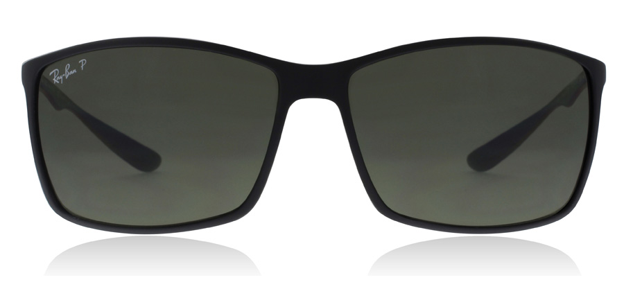 Ray-Ban Liteforce RB4179 Matt Svart 601S9A 62mm Polariserade