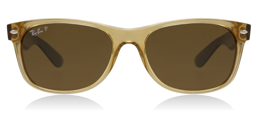 Ray-Ban RB2132 New Wayfarer Honey 945/57 55mm Polariserade