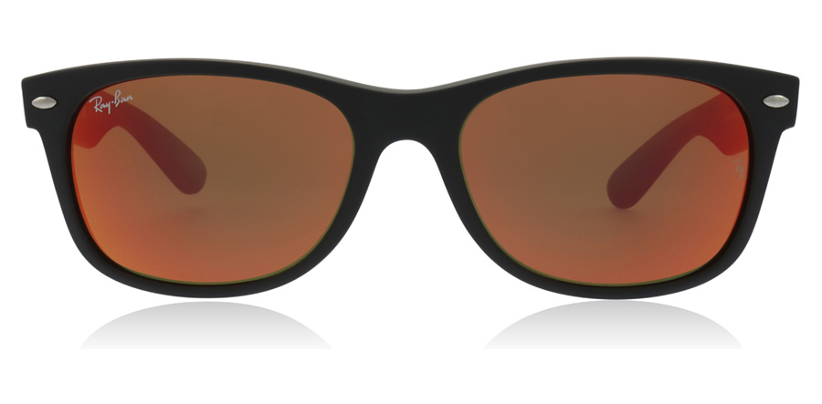 Ray-Ban RB2132 New Wayfarer Matt Svart 622/69 55mm
