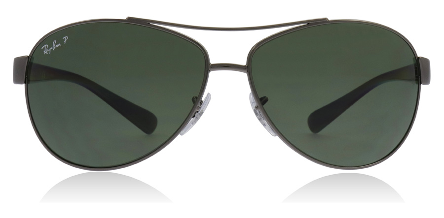 Ray-Ban RB3386 Stålgrå 004/9A 63mm Polariserade