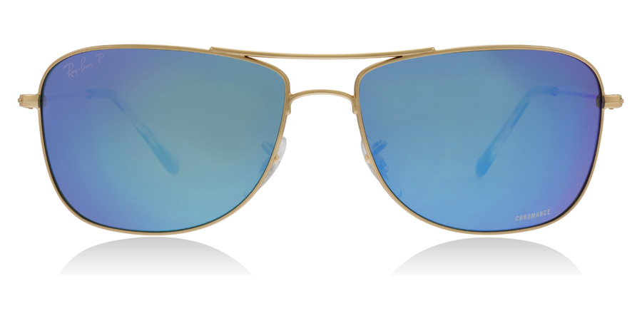 Ray-Ban RB3543 Matt Guld 112/A1 59mm Polariserade