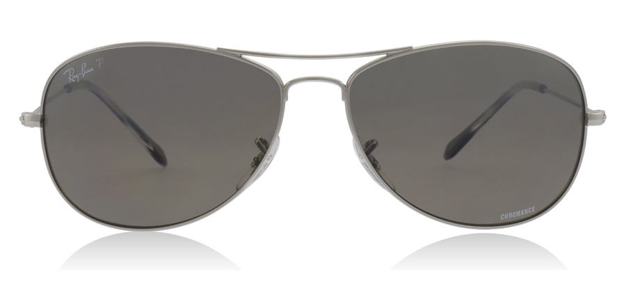 Ray-Ban RB3562 Glansig Silver 003/5J 59mm Polariserade