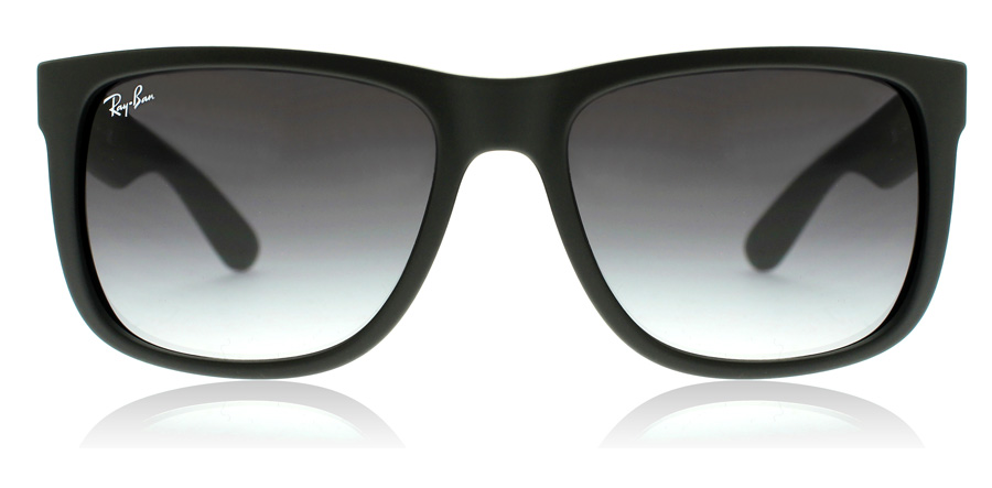 Ray-Ban Justin RB4165 Mattsvart 601/8G 55mm