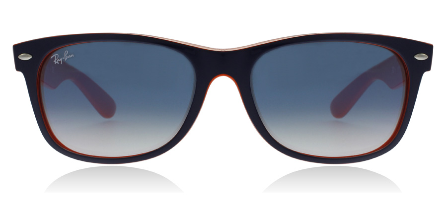 Ray-Ban RB2132 New Wayfarer Blå / Orange 789/3F 52mm