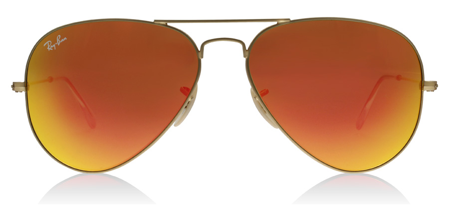 Ray-Ban Aviator RB3025 Matt Guld 11269 62mm
