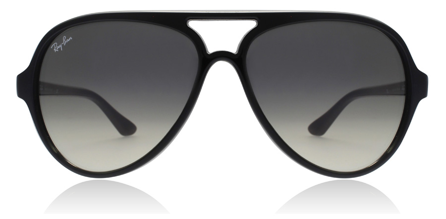 Ray-Ban CATS 5000 RB4125 Glansig Svart 601/32 59mm
