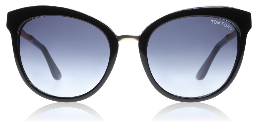 Tom Ford Emma TF461 Svart / Blå 05W 56mm