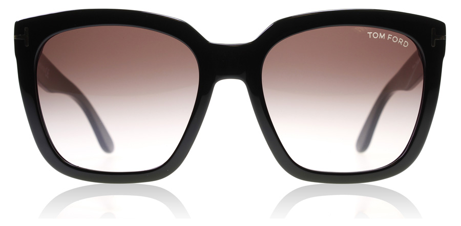 Tom Ford Amarra 0502 Glansig Svart 01T 55mm