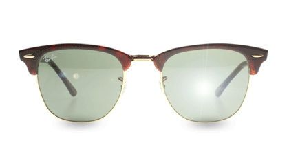 Ray-Ban 3016 Clubmaster hos Sunglasses Shop