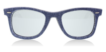 Ray-Ban RB2140 Blå Denim / Brun Denim