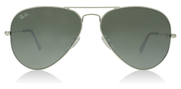 Ray-Ban RB3025 Silver Kristall