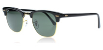 Ray-Ban 3016 Clubmaster Svart W0365 Small 49mm