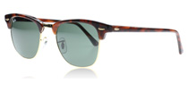 Ray-Ban 3016 Clubmaster 3016 Clubmaster Sköldpaddsmönster W0366 Large 51mm