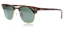Ray-Ban 3016 Clubmaster Sköldpaddsmönster W0366 Small 49mm